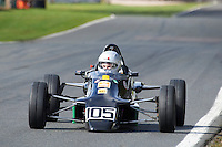 #105 Nick BARNES Van Diemen RF87 during Avon Tyres Formula Ford 1600 National & Northern Championship - Pre 90 - Qualifiying  as part of the BRSCC Oulton Park Season Opener at Oulton Park, Little Budworth, Cheshire, United Kingdom. April 09 2016. World Copyright Peter Taylor/PSP. Copy of publication required for printed pictures.  Every used picture is fee-liable.