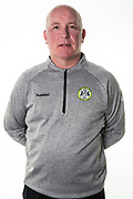 Forest Green Rovers physio Ian Weston during the 2018/19 official team photocall for Forest Green Rovers at the New Lawn, Forest Green, United Kingdom on 30 July 2018. Picture by Shane Healey.