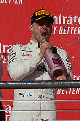 November 3, 2019, Austin, TX, USA: AUSTIN, TX - NOVEMBER 03: Mercedes AMG Petronas Motorsport driver Valtteri Bottas (77) of Finland celebrates winning the F1 - U.S. Grand Prix race at Circuit of The Americas on November 3, 2019 in Austin, Texas. (Photo by Ken Murray/Icon Sportswire) (Credit Image: © Ken Murray/Icon SMI via ZUMA Press)
