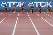 100m Men - Preliminary Round, Heat 3, start, during the 2019 IAAF World Athletics Championships at Khalifa International Stadium, Doha, Qatar on 27 September 2019.