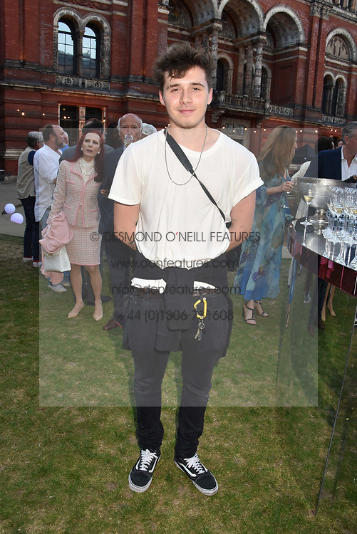 Brooklyn Beckham at the Victoria & Albert Museum's Summer Party in partnership with Harrods at The V&A Museum, Exhibition Road, London, England. 20 June 2018.