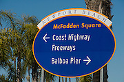 Newport Beach, CA, Balboa Peninsula, Orange County, California
