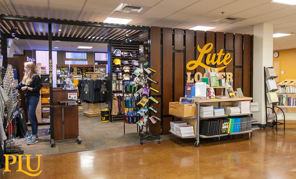 Lute Locker in AUC at PLU, Thursday, March 16, 2017. (Photo: John Froschauer/PLU)