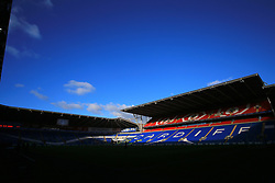 A general view of Cardiff City Stadium during the Premier League match at the Cardiff City Stadium.