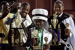 Winners of the Junior Calypso Competion: Primary Division-Ny'Kel Emanuel, Prince Short Shirt; Primary Division-Princess KeKe-Na'Kaya Esdaille; Secondary Division-Monae Greene, Lil Red