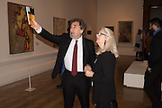 HOWARD JACOBSON; JENNY DE JONG, Opening of Abstract Expressionism, Royal Academy, Piccadilly, London, 20 September 2016