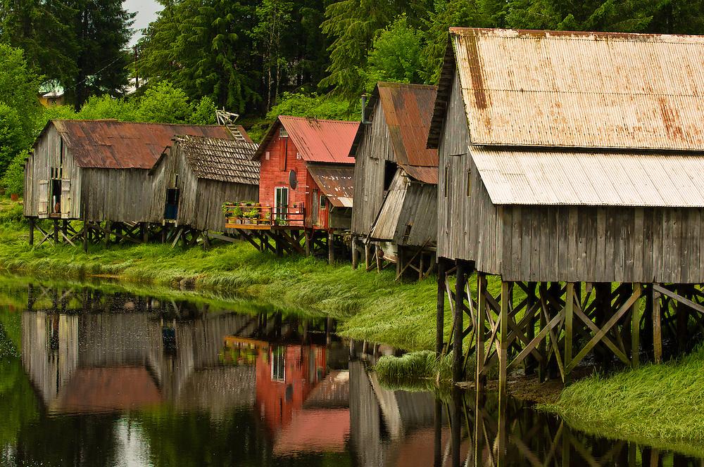 Hammar's Slough, Petersburg, Mitkof Island, Southeast Alaska