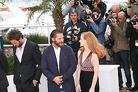 at the Lawless film photocall at the 65th Cannes Film Festival. The screenplay for the film Lawless was written by Nick Cave and Directed by John Hillcoat. Saturday 19th May 2012 in Cannes Film Festival, France.