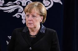 Bundeskanzlerin Angela Merkel (CDU)   bei der Verleihung der Ohel-Jakob Medaille an Kanzlerin Merkel anlässlich des  10. Jahrestags der Einweihung der neuen Münchner Hauptsynagoge<br /> <br /> / 091116<br /> <br /> *** Chancellor Merkel receiving the Ohel Jakob Medal at the Main Synagogue in Munich, Germany; November 9th, 2016 ***