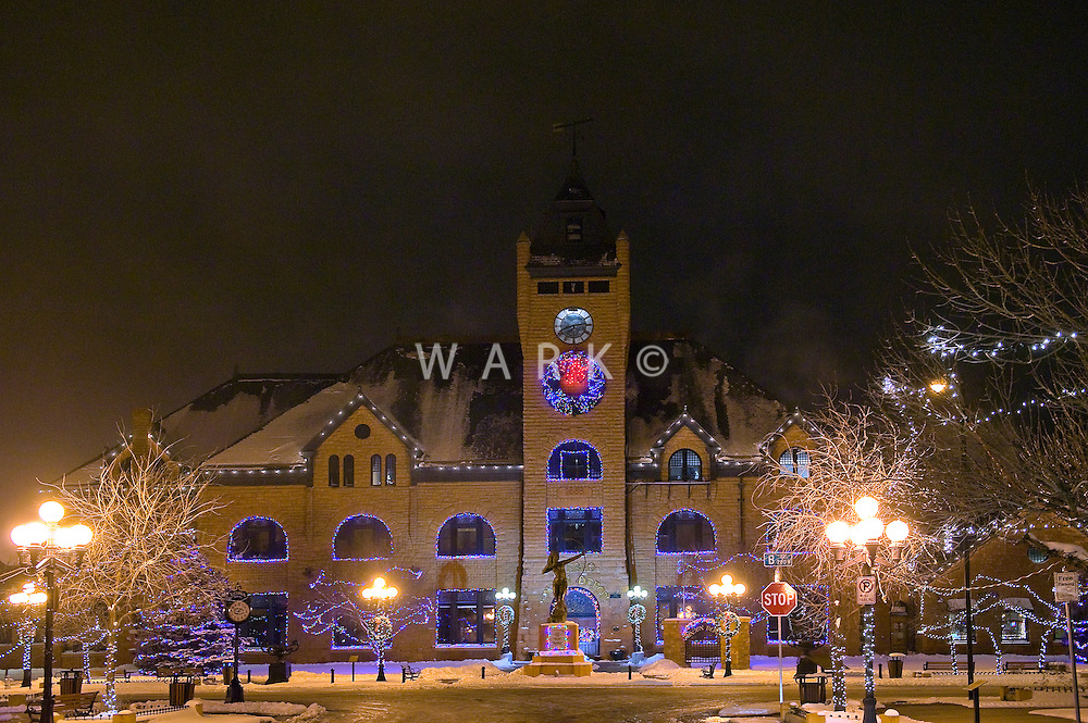 Pueblo Union Depot Christmas