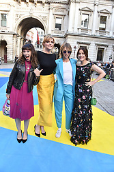 Jess Morris, Sophie Dahl, Edie Campbell and Lisa Eldridge at the Royal Academy Of Arts Summer Exhibition Preview Party 2018 held at The Royal Academy, Burlington House, Piccadilly, London, England. 06 June 2018.