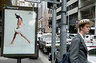 Student on a Sydney street.