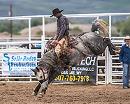 Friday Iron Man Ranch Bronc Riding