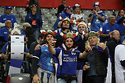 France fans during the EHF 2018 Men's European Championship, 2nd Round, Handball match between Serbia and France on January 22, 2018 at the Arena in Zagreb, Croatia - Photo Laurent Lairys / ProSportsImages / DPPI