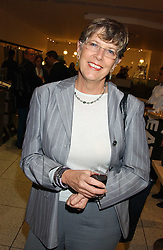 Chef PRU LEITH at a party to celebrate the publication of Soup Kitchen by Annabel Buckingham and Thomasina Miers held at Eat. Royal Festival Hall, London SE1 on 1st November 2005.<br /><br />NON EXCLUSIVE - WORLD RIGHTS