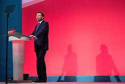 © Licensed to London News Pictures . 27/09/2015 . Brighton , UK . IAIN McNICOL speaks at the 2015 Labour Party Conference . Photo credit : Joel Goodman/LNP