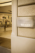 Cucci store at the Duomo, Florence, Tuscany, Italy