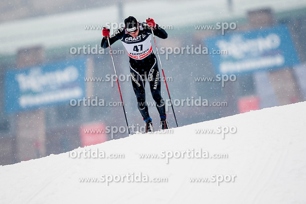 Toni Livers of Switzerland during mens 10km Classic individual start of the Tour de Ski 2014 of the FIS cross country World cup on January 4th, 2014 in Cross Country Centre Lago di Tesero, Val di Fiemme, Italy. (Photo by Urban Urbanc / Sportida)