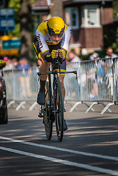 KELDERMAN Wilco from the Netherlands of Team Lotto NL - Jumbo during his race to 4th, stage 2 (ITT) of the 2016 Eneco Tour at Breda, Noord-Brabant, The Netherlands, 20 September 2016. <br /> Photo by Pim Nijland / PelotonPhotos.com | All photos usage must carry mandatory copyright credit (Peloton Photos | Pim Nijland)