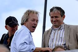 25-08-2006: VOLLEYBAL: NESTEA EUROPEAN CHAMPIONSHIP BEACHVOLLEYBALL: SCHEVENINGEN<br /> Joop Alberda en Peter Sprenger<br /> &copy;2006-WWW.FOTOHOOGENDOORN.NL