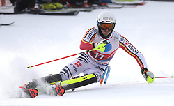 26.01.2020, Streif, Kitzbühel, AUT, FIS Weltcup Ski Alpin, Slalom, Herren, 1. Lauf, im Bild Linus Strasser (GER) // Linus Strasser (GER) in action during his 1st run in the men's Slalom of FIS Ski Alpine World Cup at the Streif in Kitzbühel, Austria on 2020/01/26. EXPA Pictures © 2020, PhotoCredit: EXPA/ SM<br /> <br /> *****ATTENTION - OUT of GER*****