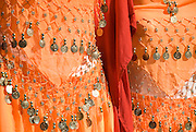 orange dresses in Carthage, Tunis, Tunisia