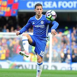 Eden Hazard of Chelsea controls the ball during Chelsea vs Crystal Palace, Premier League , 01.04.17 (c) Harriet Lander | SportPix.org.uk