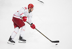 Yevgeni Kovyrshin of Belarus during the 2017 IIHF Men's World Championship group B Ice hockey match between National Teams of France and Belarus, on May 12, 2017 in AccorHotels Arena in Paris, France. Photo by Vid Ponikvar / Sportida