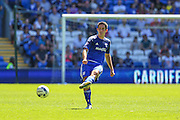 Cardiff City's Peter Whittingham  during the Sky Bet Championship match between Cardiff City and Fulham at the Cardiff City Stadium, Cardiff, Wales on 8 August 2015. Photo by Shane Healey.