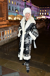 VIRGINIA BATES at Skate At Somerset House with Fortnum & Mason on 16th November 2016.
