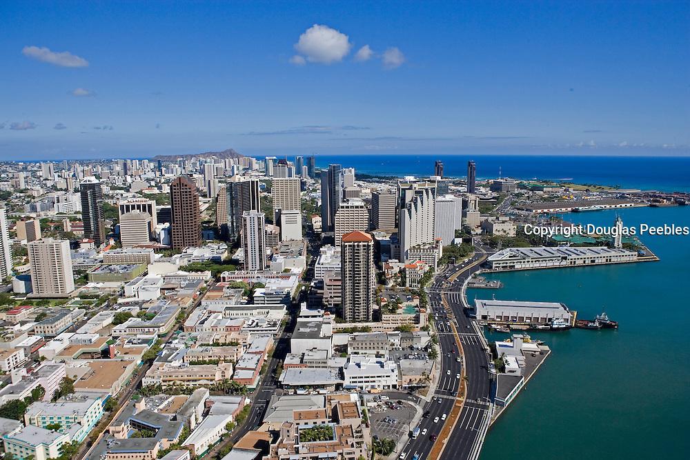 Aloha Tower, Downtown Honolulu, Oahu, Hawaii<br />