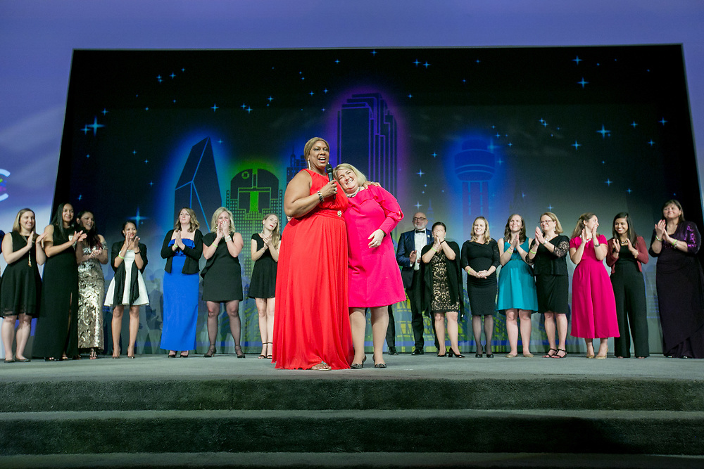 This is the Women's Business Enterprise National Council (WBENC) Summit and Salute in Dallas, Texas. photo by Kathy Anderson Photography