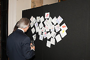 DAVID GIAMPAOLO,  VIP room during the RA summer exhibition party. Royal Academy, Piccadilly. London. 5 June 2013.