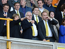 Delia smith in presents of the Molineux Stadium  - Photo mandatory by-line: Alex James/JMP - Mobile: 07966 386802 10/08/2014 - SPORT - FOOTBALL - Wolverhampton - Molineux Stadium - Wolves v Norwich City - Sky Bet Championship