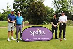 TEAM KAWASAKI Celebrity Alec Chamberlain, Sparks Leon Haslam Golf Day Wellingborough Golf Course Tuesday 7th June 2016