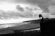 A beach in Monrovia, Liberia.