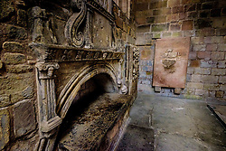 The burial vault of the Earls of Lothian in Jedburgh Abbey, Jedburgh, Scottish Borders<br /> <br /> (c) Andrew Wilson | Edinburgh Elite media
