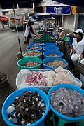 Shrimp and shellfish market, Mazatlan, Sinaloa, Mexico
