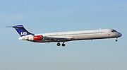 Scandinavian Airlines, McDonnell Douglas MD-82