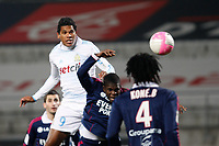 FOOTBALL - FRENCH CHAMPIONSHIP 2011/2012 - L1 - OLYMPIQUE MARSEILLE v OLYMPIQUE LYONNAIS - 5/02/2012 - PHOTO PHILIPPE LAURENSON / DPPI - BRANDAO (OM)