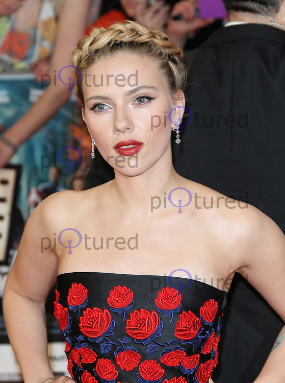 LONDON - APRIL 19: Scarlett Johansson attends the European Film Premiere of 'Avengers Assemble' at the Westfield Shopping Centre, White City, London, UK. April 19, 2012. (Photo by Richard Goldschmidt)