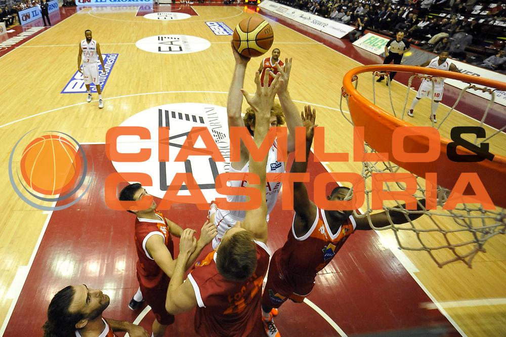 DESCRIZIONE : Milano Lega A 2012-13 EA7 Emporio Armani Milano Acea Roma<br /> GIOCATORE : Niccolo Melli<br /> CATEGORIA : special<br /> SQUADRA : EA7 Emporio Armani Milano<br /> EVENTO : Campionato Lega A 2012-2013 <br /> GARA : EA7 Emporio Armani Milano Acea Roma<br /> DATA : 22/10/2012<br /> SPORT : Pallacanestro <br /> AUTORE : Agenzia Ciamillo-Castoria/GiulioCiamillo<br /> Galleria : Lega Basket A 2012-2013  <br /> Fotonotizia :  Milano Lega A 2012-13 EA7 Emporio Armani Milano Acea Roma<br /> Predefinita :