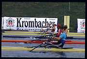 Munich, GERMANY   Heat of the W1X. 1998 FISA World Cup, Munich Olympic Rowing Course, 29-31 May 1998.  [Mandatory Credit, Peter Spurrier/Intersport-images] 1998 FISA World Cup, Munich, GERMANY
