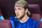 Everton midfielder Tom Davies (26) during the Premier League match between Aston Villa and Everton at Villa Park, Birmingham, England on 23 August 2019.