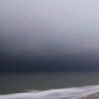 Storm along the South Carolina coast