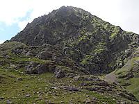 climbing Beenkeragh, ireland