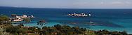 Palombagio beach near porto vechio, Corsica south  /  la plage de Palombagio pres de Porto vechio, Corse du sud