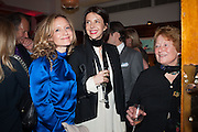 LARA CAZELET; HENRIETTA CHANNON; CAMILLA CAZELET, Rocco Forte's Brown's Hotel Hosts 175th Anniversary Party, Browns Hotel. Albermarle St. London. 16 May 2013