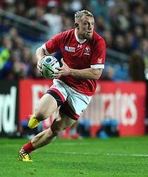 Phil Mackenzie of Canada  - Mandatory byline: Joe Meredith/JMP - 07966386802 - 01/10/2015 - Rugby Union, World Cup - Stadium:MK -Milton Keynes,England - France v Canada - Rugby World Cup 2015