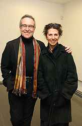 STEPHEN & FLO BAYLEY at an exhibition of leading artist Ellsworth Kelly at the Serpentine Gallery, Kensington Gardens, London followed by a dinner at the Riverside Cafe, London on 17th March 2006.<br /><br />NON EXCLUSIVE - WORLD RIGHTS